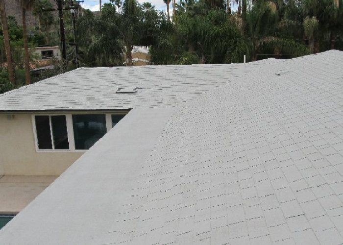 Palm Springs Roof Coating - After
