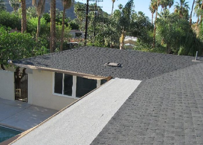 Palm Springs Roof Coating - Before