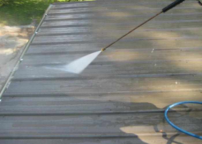 Alabama Roof Coating - Cleaning