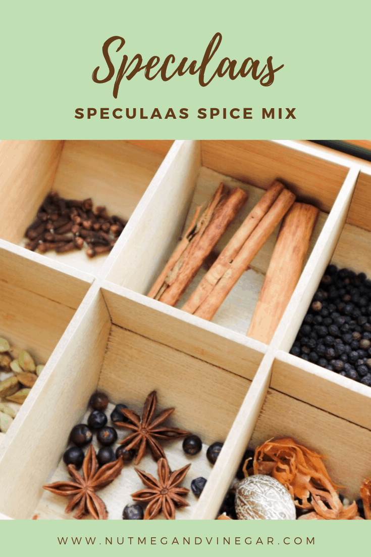 A traditional spice blend to bake delicious speculaas cookies. #Speculaas #Speculoos #Biscoff #Spicemix #Holidays