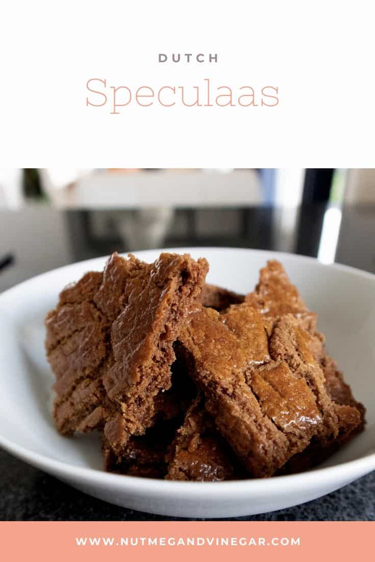 Dutch speculaas chunks
