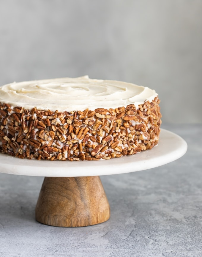 Old Fashioned Carrot and Pineapple Cake