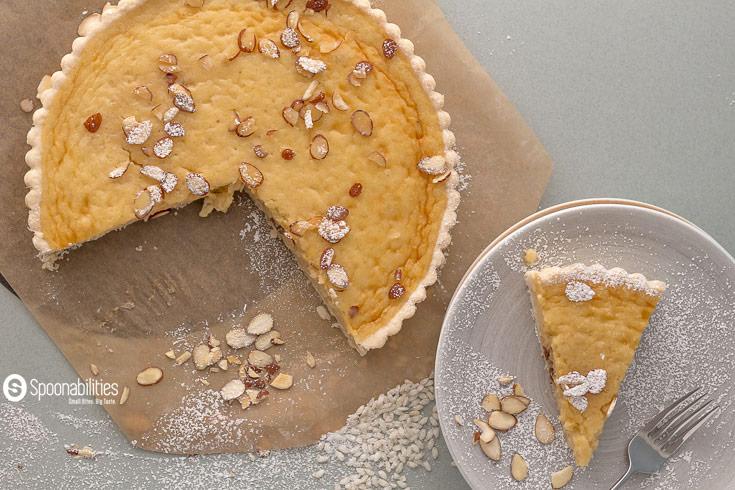 Traditional Swiss Easter Rice Tart Recipe