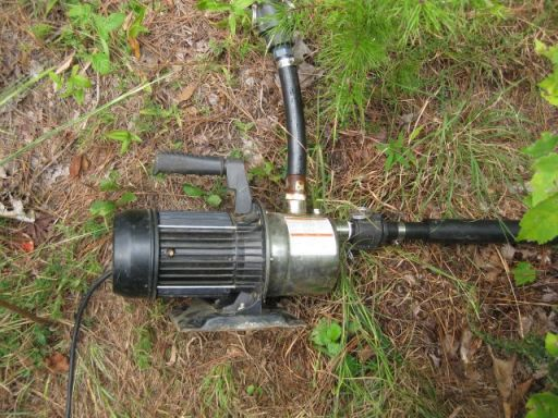 my rainwater pump