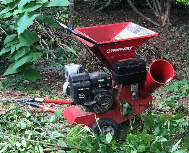 wood chipper repair