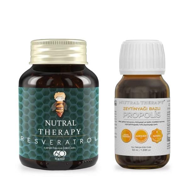 Nutral Therapy Zeytinyağı Bazlı Propolis Resveratrol