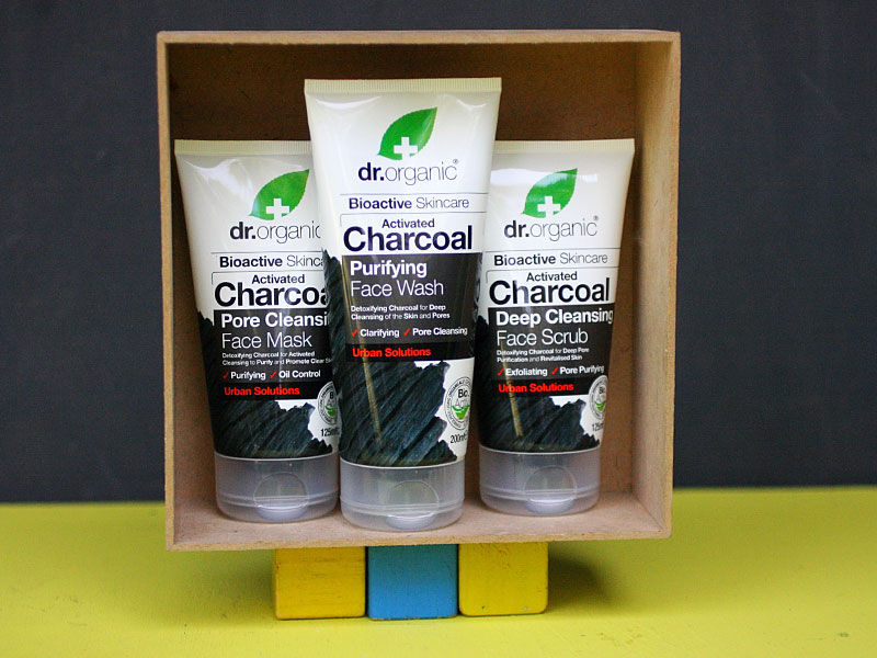 The Ultimate Guide to Activated Charcoal - Dr organic Activated Charcoal Purifying Face wash, Face Mask and Face Scrub