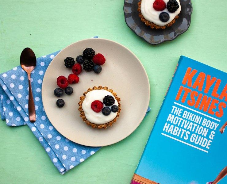 Kayla Itsines' Breakfast Tart Recipe