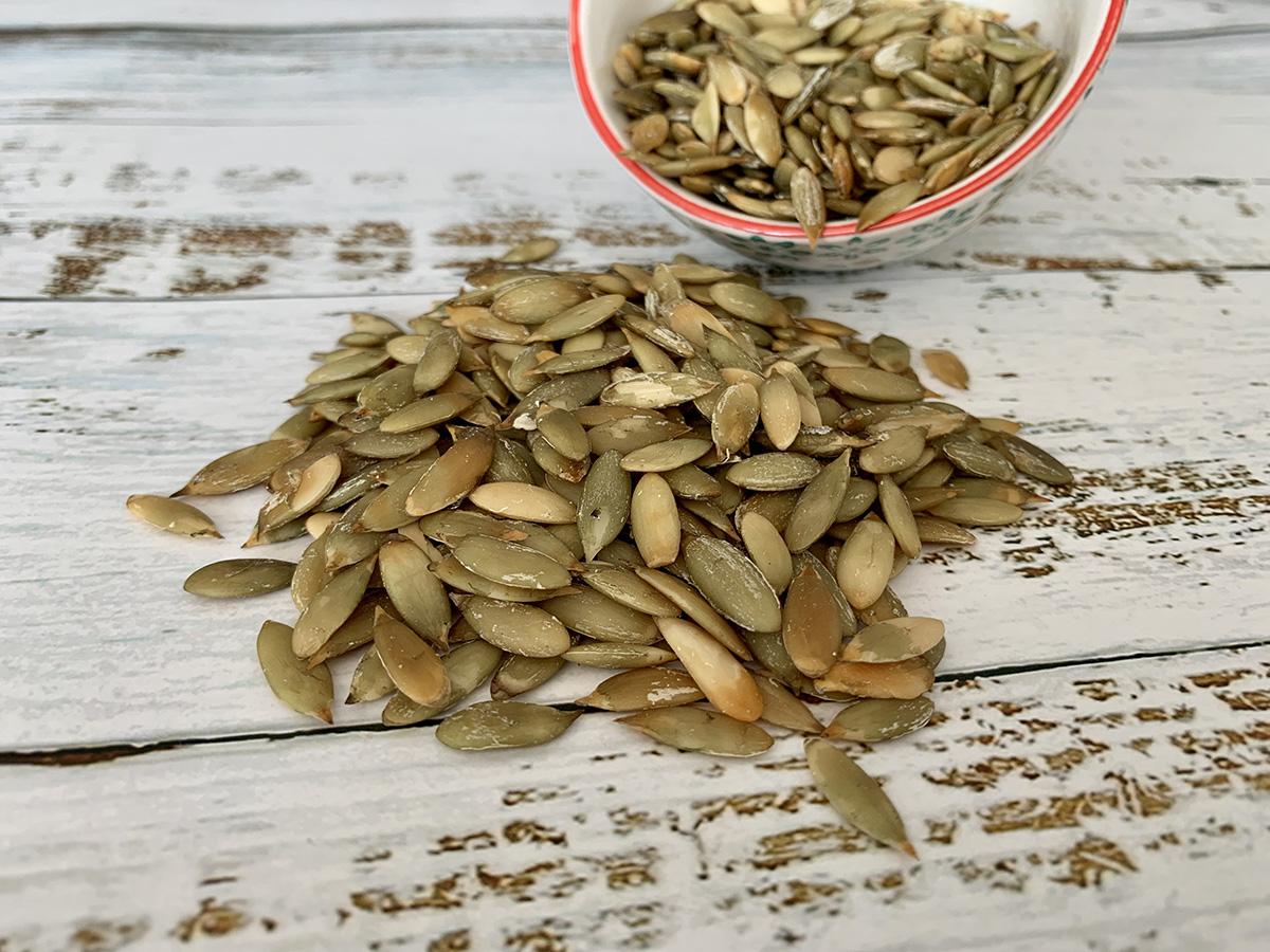Cómo pelar semillas de Calabaza