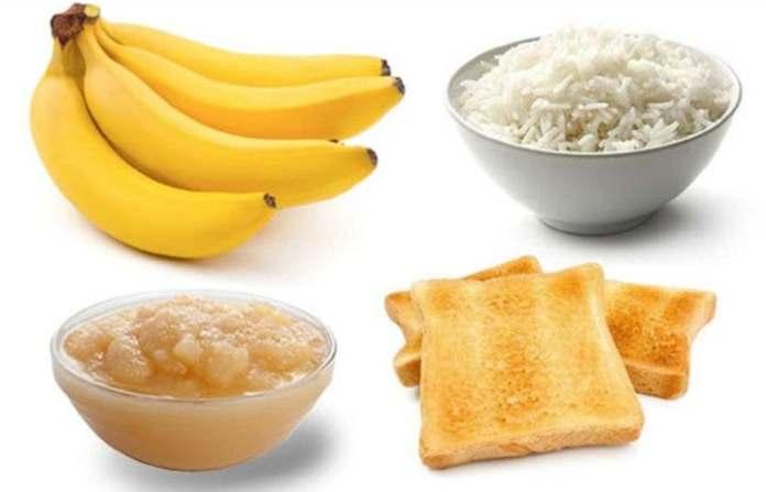 Diet BRAT - Banana, Arroz,Torrada e Puré de maçã