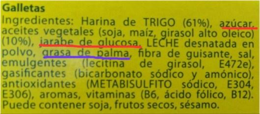 """Galleta maria de la marca """"Flora"""""""