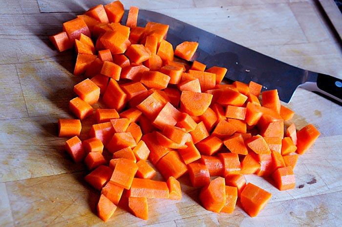 carrots-chopped