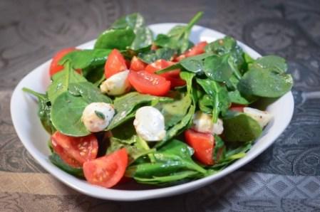Salata de spanac-1