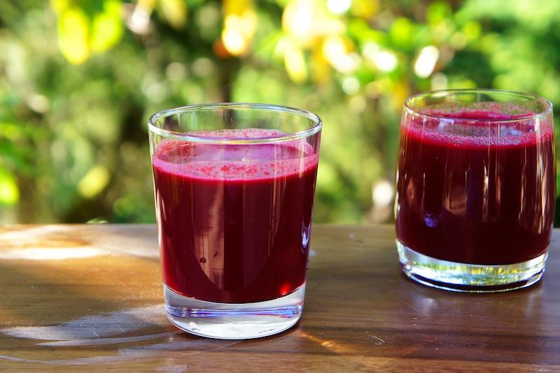 Fresh din sfecla rosie, morcovi, spanac si portocale pentru sustinerea functiei hepatice si scadere in greutate