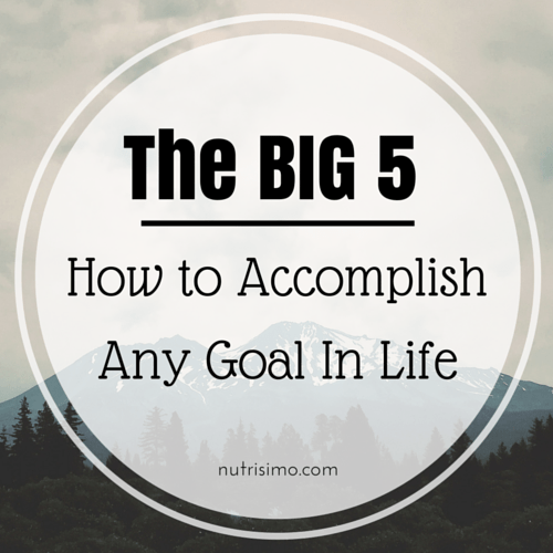 How to Accomplish Any Goal in Life