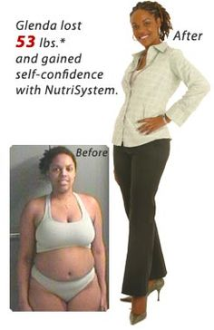 nutrisystem how much weight