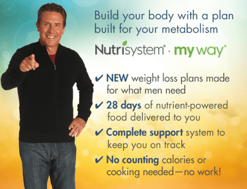 nutrisystem mens plan review