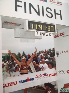 Ironman USA 2001 finish