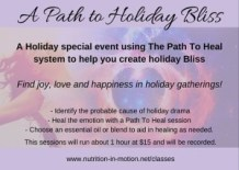 a path to holiday bliss