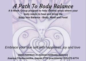 path to body balance header