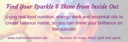 Find Your Sparkle & Shine From Inside Out