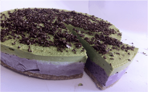 immune boosting cake with macha
