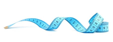 Measuring tape for weight loss