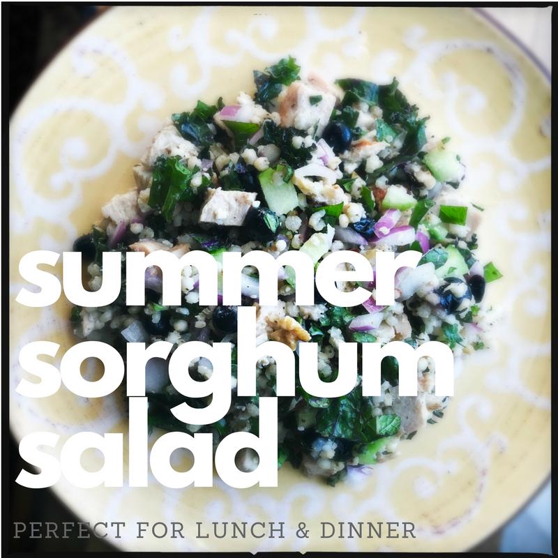 sorghum chicken salad