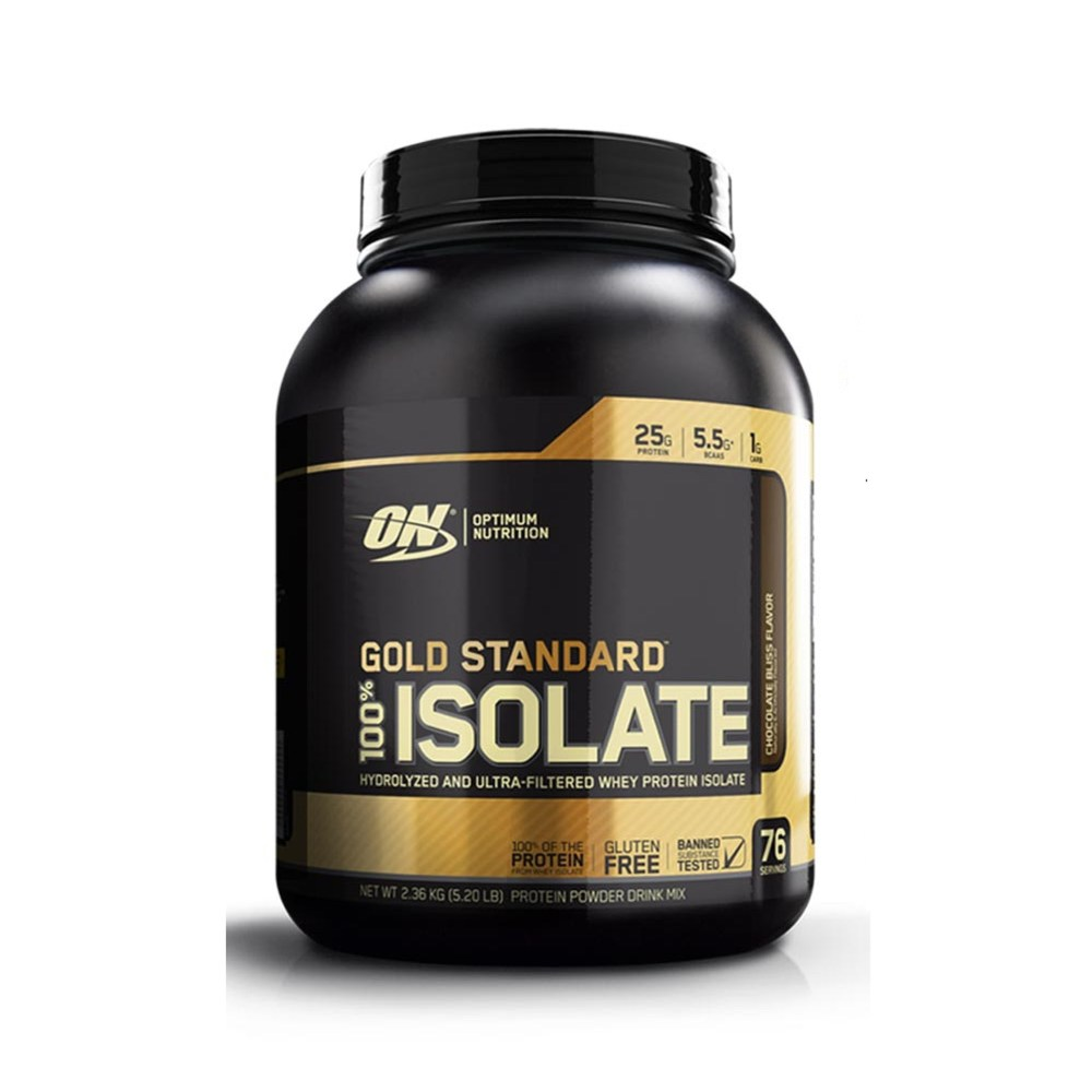 Optimum Nutrition Gold Standard 100% Isolate Chocolate Bliss 5.20 lbs