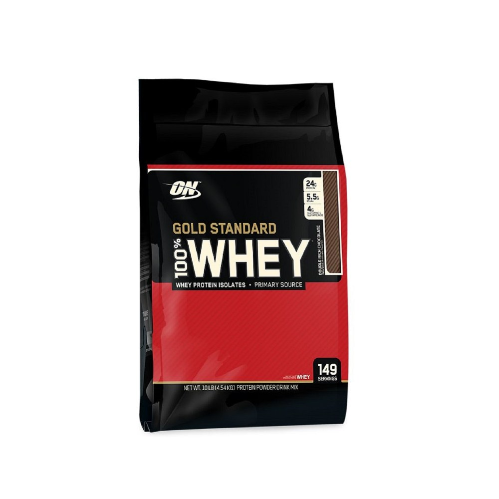Optimum Nutrition Gold Standard Whey Double Rich Chocolate 10Lbs