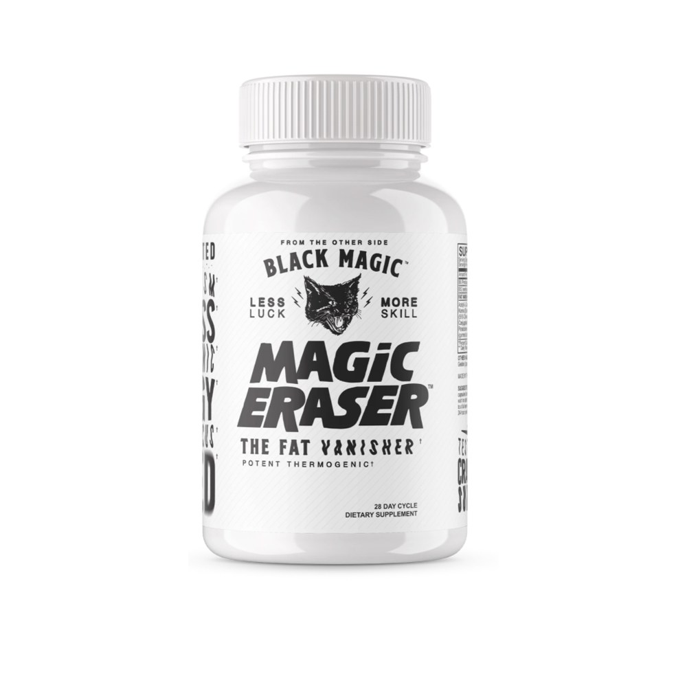 Black Magic - Magic Eraser Potent Thermogenic available at Nutrition Depot Philippines