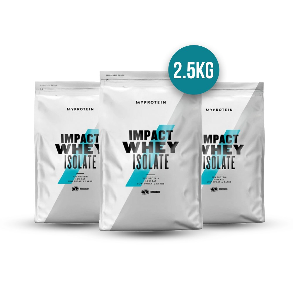 MyProtein Impact Whey Isolate 2.5kg - Nutrition Depot Philippines