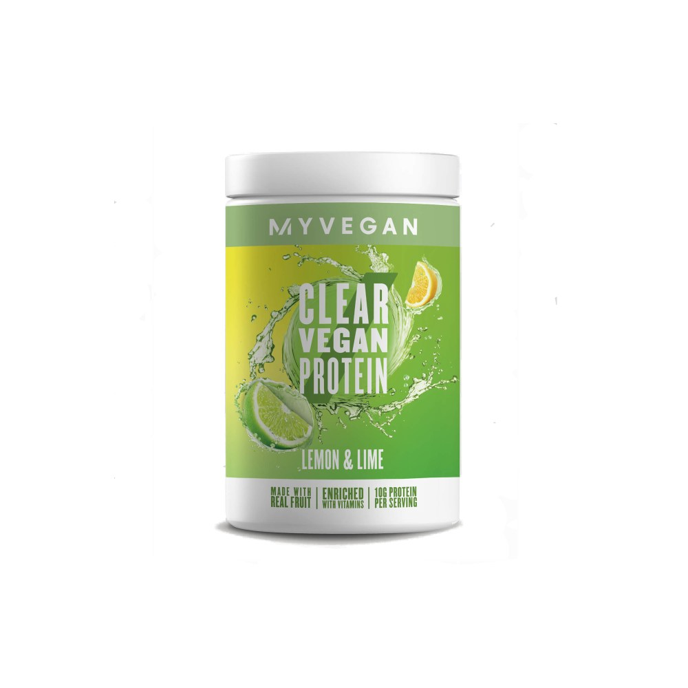 MyVegan Clear Vegan Protein LEMON & LIME 320g - Nutrition Depot Philippines