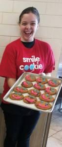 Volunteer Smile Cookie