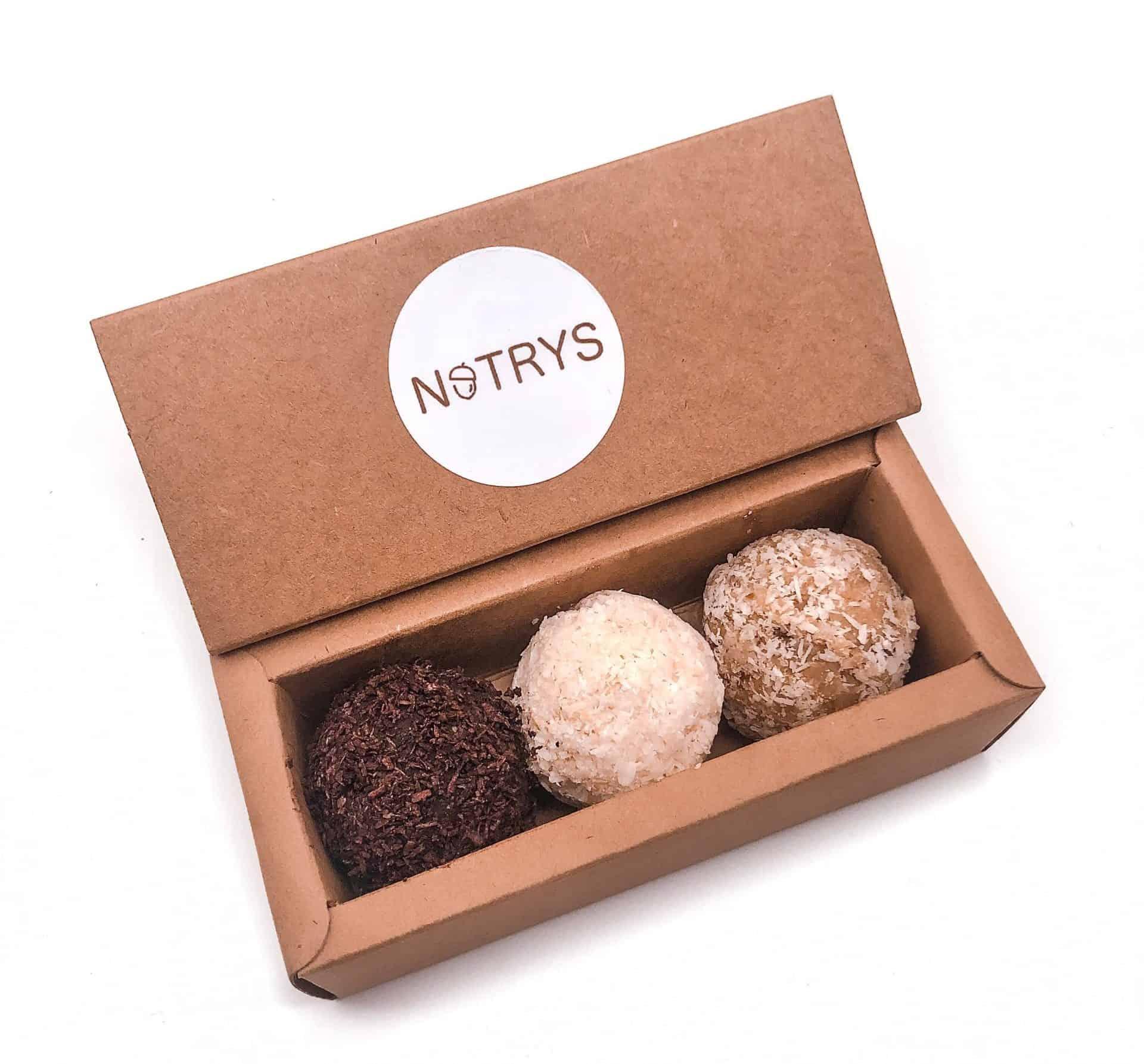 Nutrys 3er Box - Kokos, Schoko, Zitrone