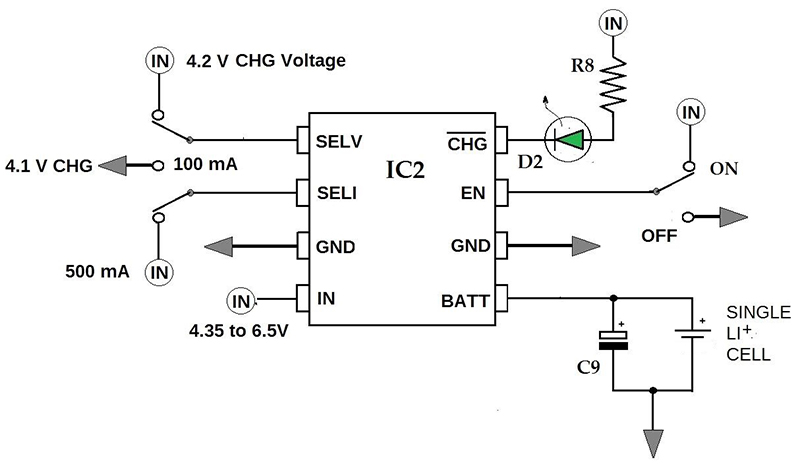 Usb Portable Charger Cell Phone Charger Diagram