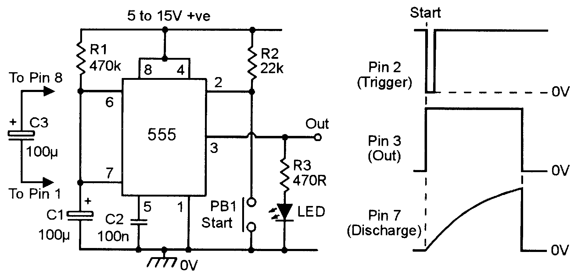Fm Transmitter Circuit Using Ic 555