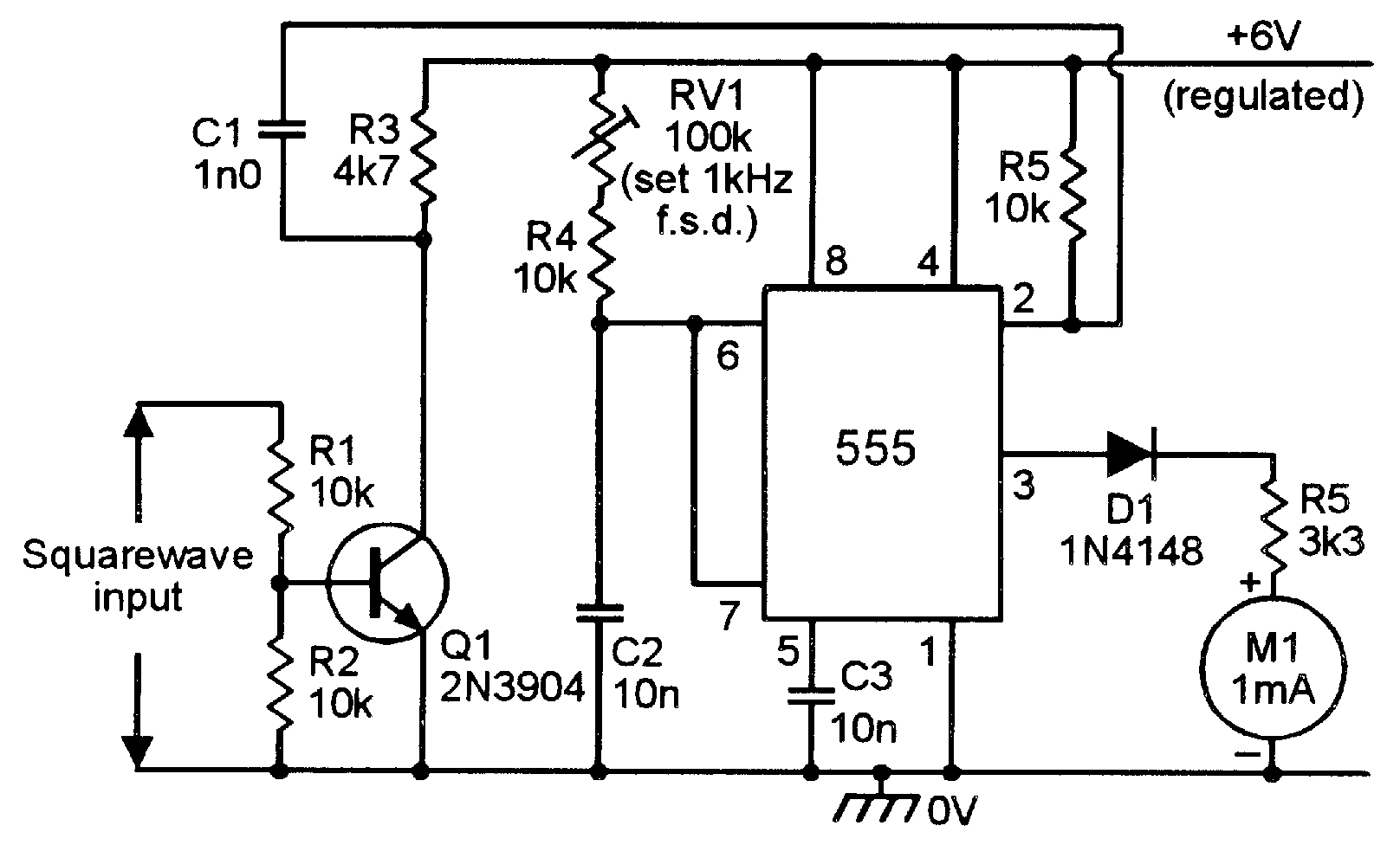 Engine Circuit Frequency Counter