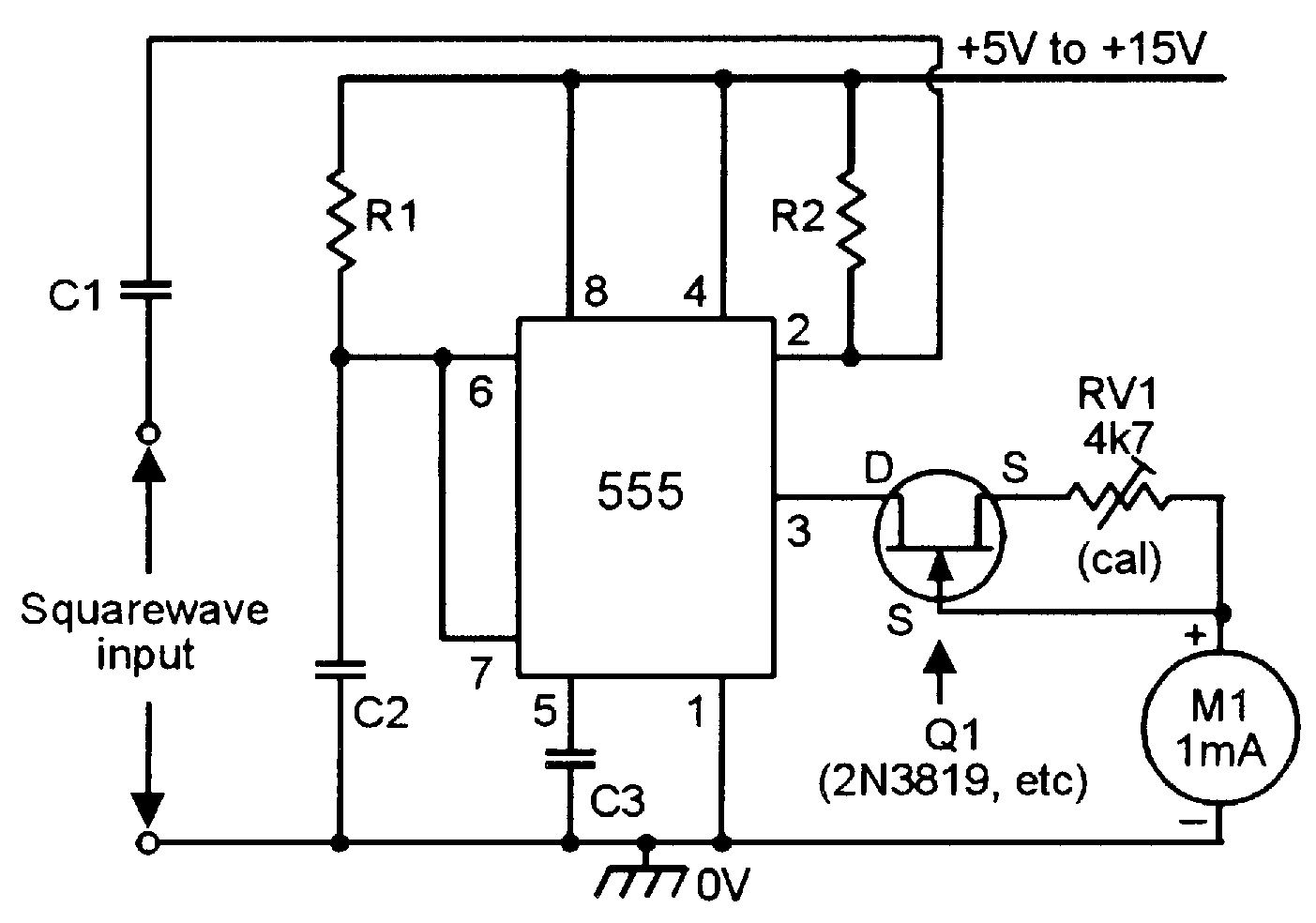 555 Monostable Circuits