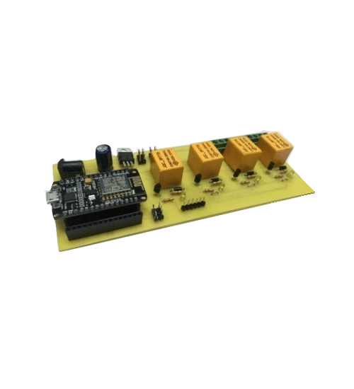 NodeMCU with 4 Relay Board- Complete IOT board