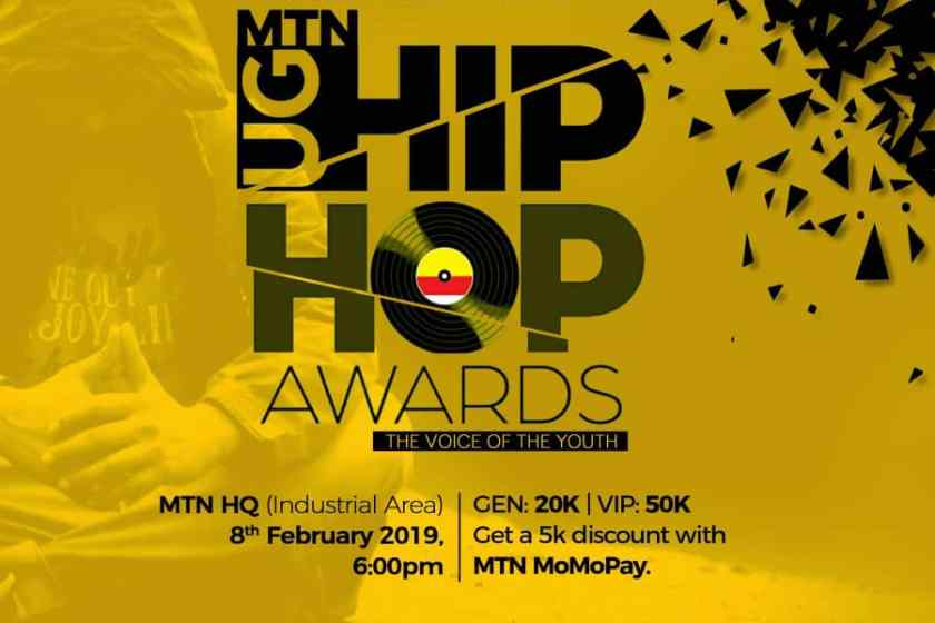 MTN UG Hip Hop Awards Nominees Full List + voting codes & how to vote