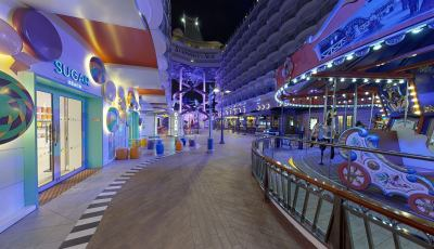 Symphony of the Seas- The Boardwalk 3D Model