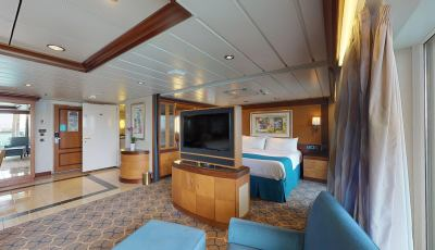 Navigator of the Seas- Owner's Suite- 1 Bedroom 3D Model