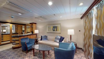 Navigator of the Seas- Grand Suite-1 Bedroom 3D Model