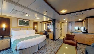 Oasis of the Seas- Grand Suite- 1 Bedroom 3D Model