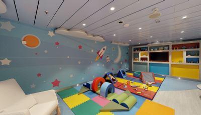 Oasis of the Seas Adventure Ocean Babies 3D Model