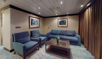 Oasis of the Seas- Grand Suite- 2 Bedrooms 3D Model