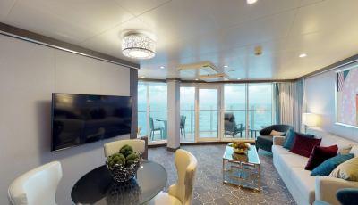 Symphony of the Seas – Aqua Theater Suite 1 Bedroom 3D Model