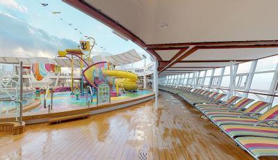 Symphony of the Seas – Splashaway Bay 3D Model