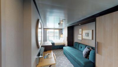 Symphony of the Seas – Ocean View Balcony 3D Model